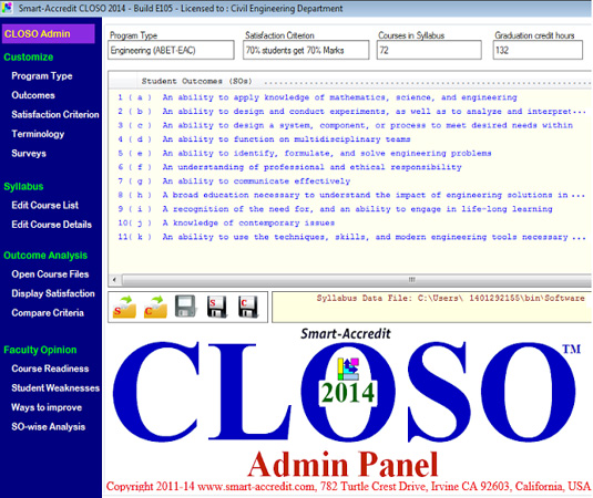 <p>CLOSO Admin Panel sets up everything you may need<br />